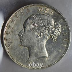 Great Britain 1885 1/2 Crown silver lustrous half GR0278 combine shipping