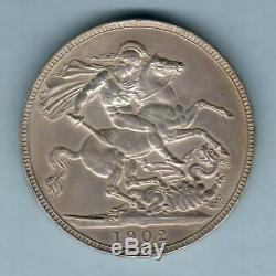 Great Britain. 1902 Edward VII Crown. AEF/EF