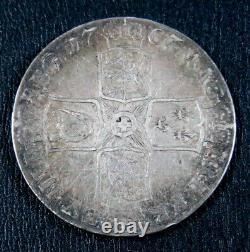 Great Britain Anne Crown 1707-E, Edinburgh mint, KM526.1, S-3600