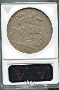 Great Britain Beautiful George IV Silver Crown, 1822, Km# 380.2, Anacs Vf 30
