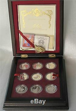 Great Britain Elizabeth II Coronation Sterling Silver 18 Crown Dollar Set $1587