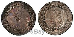 Great Britain. England. Edward VI. 1552 Crown, PCGS F15. Charming color