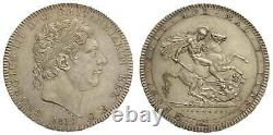 Great Britain. George III. Crown, 1819 LIX. UNC luster S. 3787ESC-215Dav-103