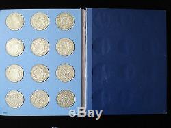 Great Britain Half Crown Set Silver Coin 1920 1946 #NLA
