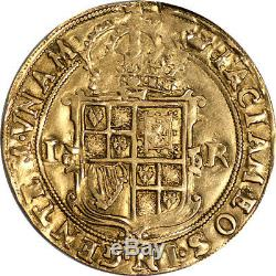 Great Britain James I Gold Unite (1607-09) NGC XF-40