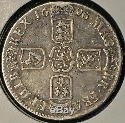 Great Britain UK 1696 Crown Fine+