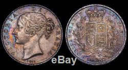 Great Britain Victoria 1844 Young Head Crown PCGS MS63+