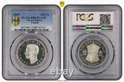 Great Britain uk 1937 1/2 crown half crown proof pcgs pr65dcam scarce