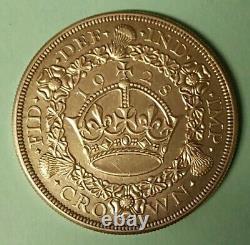 Großbritannien Great Britain 1 Kranz-Krone Wreath Crown 1928 SS-VZ Silber M422