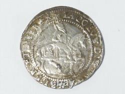 James I Half Crown mm Trefoil S2667 Hammered Silver a/f Scratched MD obv. #LB72