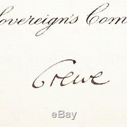 King George V Signed Document Autograph OBE Appointment Dowton Abbey The Crown