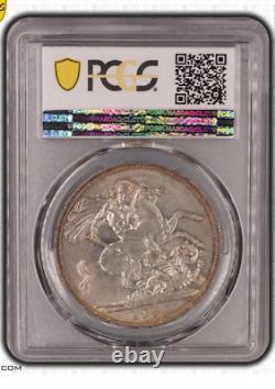 PCGS Great Britain. Crown 1902. PCGS AU58