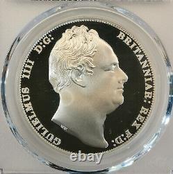 Pcgs-pr69cam 1835 Great Britain Three Graces Ina Retro Fantasy Crown Silver Pf