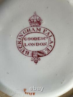 Royal Provenance Buckingham Palace George V China Crown Slop Bowl Antique GVR