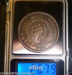 Silver Trade Dollar 1804 Great Britain Bank of England Five Shillings 40.8mm