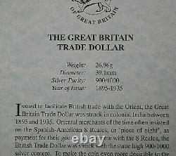 UK 1899B Trade Dollar