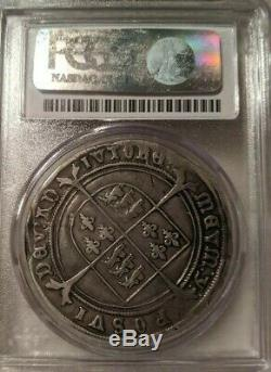 1551 Couronne S-2478 Grande-bretagne Pcgs Vf20 Edward VI Silver Coin Très Fine
