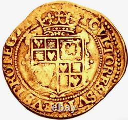 1625-1649 Grande-bretagne Angleterre Charles Ier Stuart Av Crown Vf Rarissime