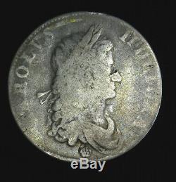 1662 Grande-bretagne Couronne Km # 417,2 Charles II Angleterre