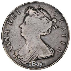 1703 Anne Vigo Demi-couronne De Monnaie D'argent Grande-bretagne