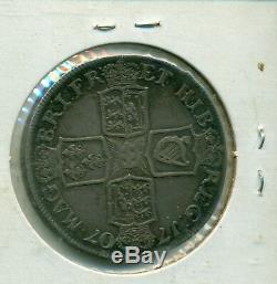 1707 Grande-bretagne Crown Fine-vf