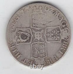 1707e Anne Silver Crown Dans L'état D'utilisation