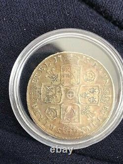 1715 Grande-bretagne George I Silver Half Crown