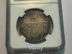 1746 Lima Grande-bretagne Demi-couronne Ngc Vf 25
