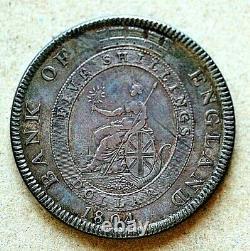 1804 Grande-bretagne, Banque D'angleterre 5 Shillings, Km Tn1