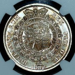 1817 Grande-bretagne 1/2 Couronne Ngc Ms-62 England Large Bust 1/2c Unc Trusted