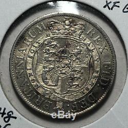 1818 Grande-bretagne George III 1/2 Couronne Silver Coin, Au Rare État