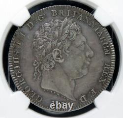 1818 LIX Grande-bretagne Couronne Ngc Au58 Argent Avec Vidéo Hd Dans Description