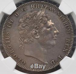 1819 LIX Couronne Fraisées Ngc Ms61 Grande-bretagne S-3787, Km-675 George III