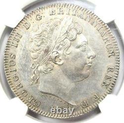 1820 LX Grande-bretagne Angleterre George III Crown Coin Certifié Ngc Au Détails