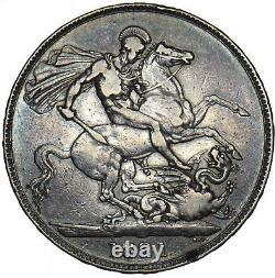 1821 Couronne George IV Pièce D'argent Britannique Nice