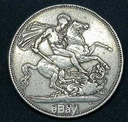 1821 Grande-bretagne GB Couronne George IV British Silver Coin V De Nice