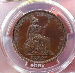 1826 Grande-bretagne George IV Proof Penny, Pcgs Pr63 Rare