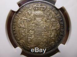 1829 Grande-bretagne George IV 1/2 Couronne Ngc Ms61 État Monnaie