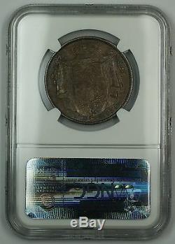 1834 Grande-bretagne Argent Demi-couronne Coin'ww En Lettres Script Ngc Xf-45 Akr