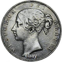 1845 Couronne Victoria British Silver Coin Nice