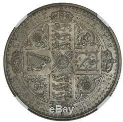 1847 Onu Décembre Grande-bretagne Couronne Type Gothique Pf63 Ngc 942719-1