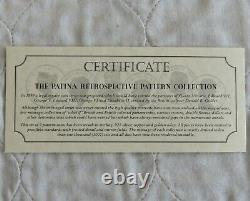 1879 Victoria Proof Pattern Shield Crown Set Argent Cuivre Bronze
