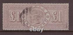 1884 £ £ £ Livre Couronnes Brown-lilac Filigrane, Sg 185 Very Fine Cat £2800