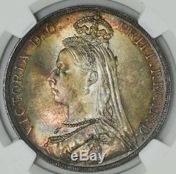 1887 Grande-bretagne Couronne Ms66 + Ngc Pop 1, Aucun Finer! 942943-8
