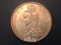 - 1887 Grande-bretagne Victoria Jubilé D'or De La Couronne Choix Ongecirculeerd Unc