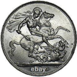 1895 LIX Crown Victoria British Silver Coin V Nice