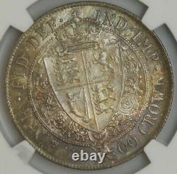 1900 Grande-bretagne Half Crown 1/2c Ms65 Ngc 943596-38
