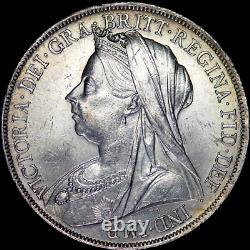 1900 Victoria Full Crown LXIV Dans Un Grade Extrêmement Élevé, Joliment Tonifié