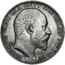1902 Couronne Edward VII Pièce D'argent Britannique V Nice