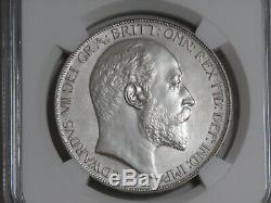 1902 Grande-bretagne Couronne Matte La Preuve Ngc Pf 61